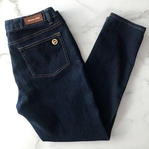 Michael Kors Dark Wash Straight Leg Jeans Size 6